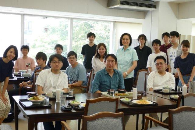 Jul. 23, 2018 - Visit of Assoc. Prof. Jungwon Kim