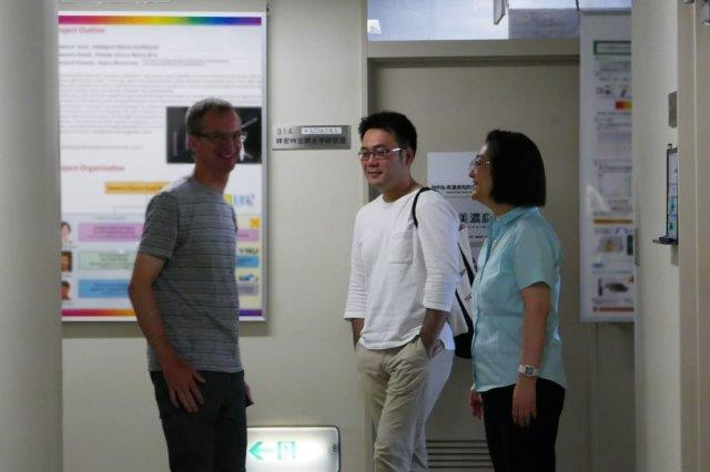 Jul. 23, 2018 - Visit of Assoc. Prof. Thomas Schibli