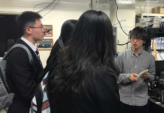 2019/4/17 Visit of Dalian University of Technology